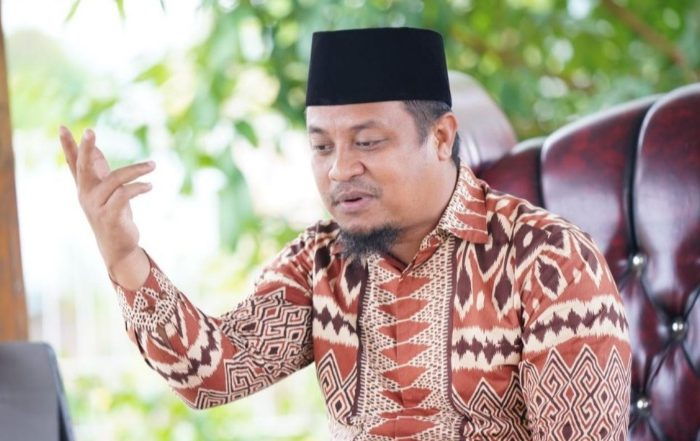 Wakil Gubernur Sulawesi Selatan (Sulsel), Andi Sudirman Sulaiman