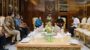 GM Pertamina Silaturahmi dengan Gubernur Sulsel