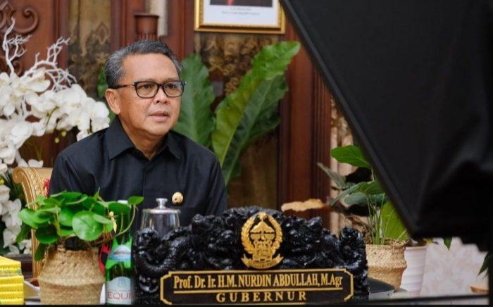 Gubernur Sulawesi Selatan, Nurdin Abdullah.