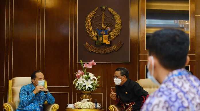Gubernur Sulsel dan GM Pertamina Bahas Beasiswa untuk Warga Pulau