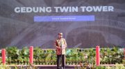 Nurdin Abdullah dan Forkopimda Sulsel Groundbreaking Gedung Twin Tower