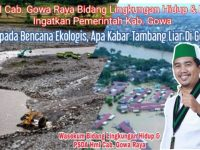 Suwandi Sultan, Bidang Lingkungan Hidup Dan PSDA HMI Cabang Gowa Raya.