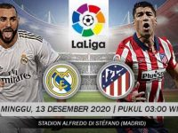Link Live Streaming LaLiga Spanyol: Real Madrid vs Atletico