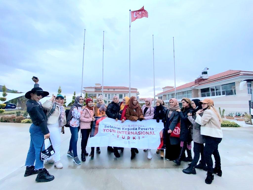 Rombongan PT. Affor Neo Jaya di Turki.