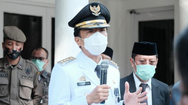 Penjabat (Pj) walikota Makassar, Rudy Djamaluddin.