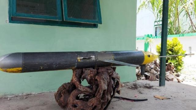 Penemuan Seaglider di Selayar. (Foto: Istimewa)