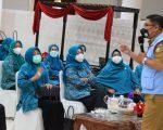 Ketua TP PKK Makassar Ajak Kader Sosialisasiskan Vaksin