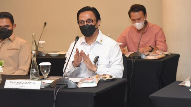 Rapsel Ali siap pimpin aksi penyelamatan pulau Kakabia
