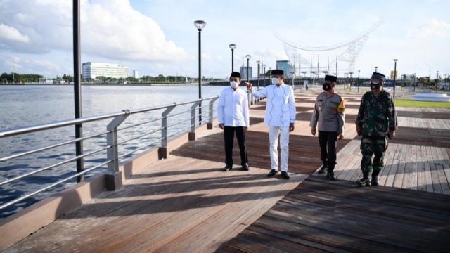 Nurdin Abdullah Resmikan Kawasan Wisata Kuliner di CPI
