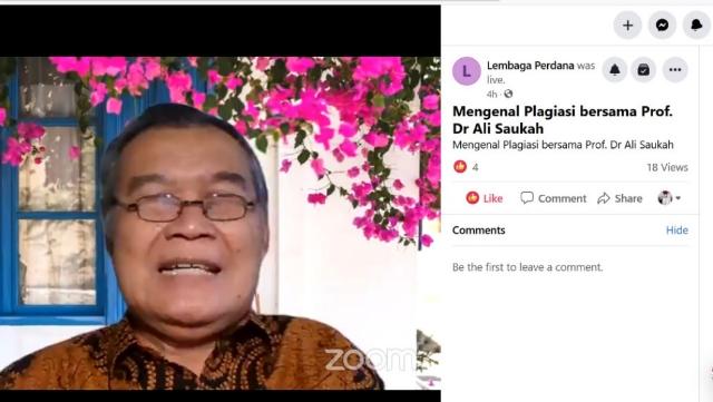 HMJ Ekonomi Islam UIN Alauddin Makassar Bersama Jurnal Laa Maisyir Gelar Kuliah Tamu