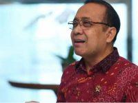 Menteri Sekretaris Negara, Pratikno, menyampaikan keterangan di Gedung Utama Kementerian Sekretariat Negara pada Selasa, 16 Februari 2021.