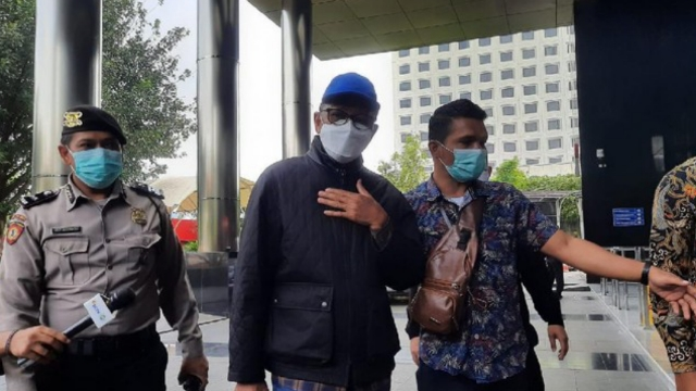 Diseret ke Gedung KPK, Nurdin Abdullah: Saya Lagi Tidur, Dijemput