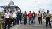 Tiba di Selayar, Basli Ali-Saiful Arif Disambut Warga di Pelabuhan Pamatata