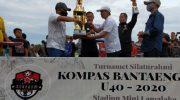 Ilham Azikin Tutup Turnamen Silaturahmi Kompas Bantaeng
