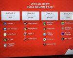Hasil Drawing Piala Menpora 2021