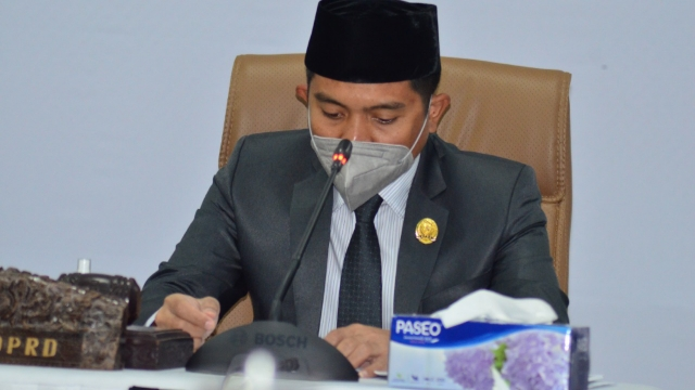 Ketua Dewan perwakilan rakyat daerah (DPRD) Kota Bontang Andi Faizal Sofyan Hasdam,