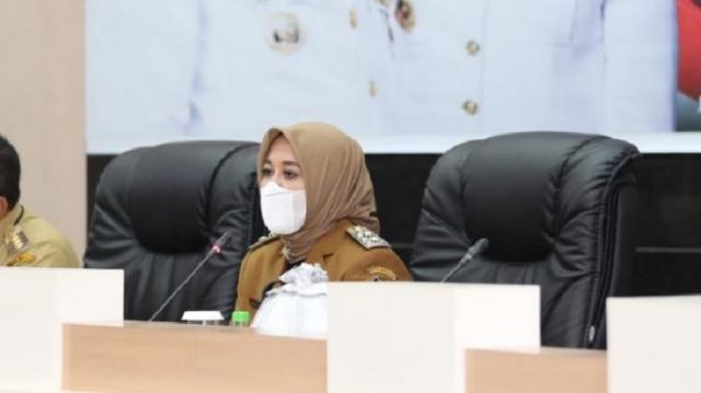 Wakil Wali Kota Makassar, Fatmawati Rusdi (tengah). (Foto: Istimewa)