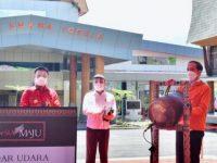 Presiden Jokowi Resmikan Bandara Buntu Kunik Toraja