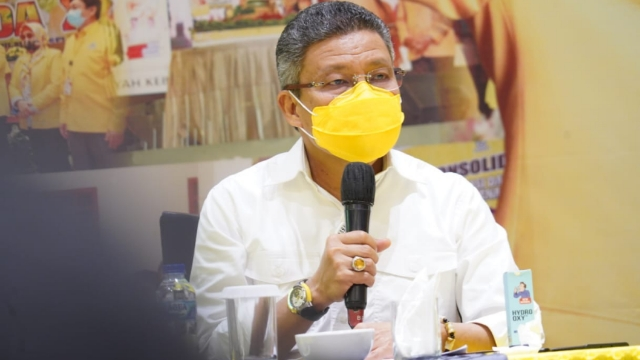 Ketua DPD I Golkar Sulsel, Taufan Pawe