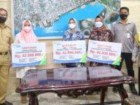 Danny Teken MoU Bersama BPJSTK dan Pegadaian Dukung Makassar Recover.