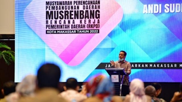 Plt Gubernur Sulsel Buka Musrenbang RKPD Kota Makassar