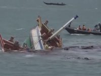 Kapal Ikan Asing Ditenggelamkan di Batam