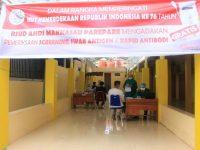 Semarak HUT Proklamasi Ke -76, RSUD Andi Makkasau Layani Screening dan Testing Covid-19 Gratis
