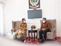 Wali Kota Parepare dan Plt. Gubernur Sulsel Andi Sudirman Sulaiman