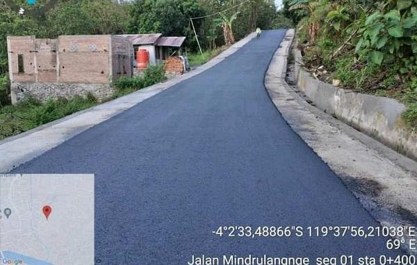 Perbaikan Infrastuktur Jalan di sejumlah titik