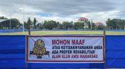 Direhab, Rumput Lapangan Andi Makkasau Pakai Zoysia Matrella, Sama dengan Stadion GBK Jakarta