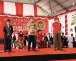 Vaksinasi pelajar yang digelar bersama Badan Intelijen Negara (BIN) dan Pemerintah Kabupaten Bantaeng
