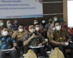 Bupati Bantaeng, DR Ilham Azikin memaparkan capaian Sanitasi Total Berbasis Masyarakat (STBM) dalam setahun terakhir.