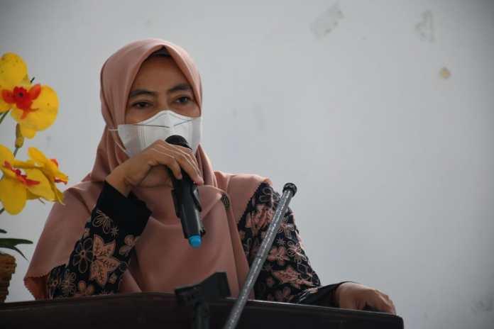 Sekretaris Dinas Kesehatan Sinjai, drg. Farina Irfani