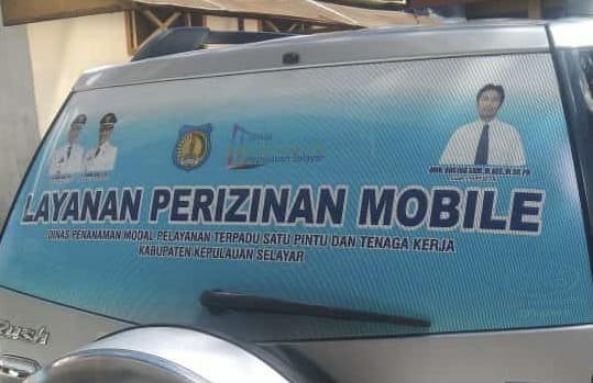 Dinas PMPTSPTK Selayar Buka Layanan Perizinan Mobile