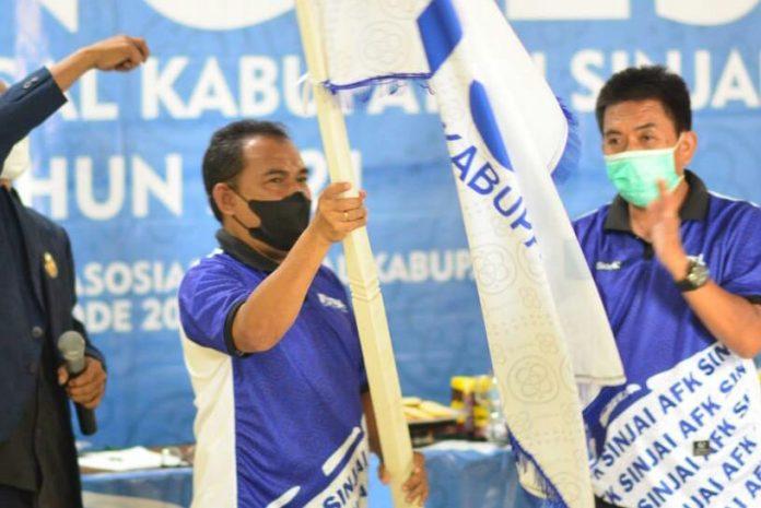 Terpilih Aklamasi, Haris Achmad Kembali Pimpin AFK Sinjai