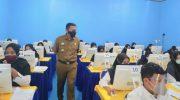 Basli Ali Pantau Langsung Tes SKD PPPK Kepulauan Selayar