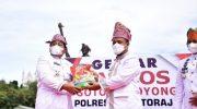 Plt Gubernur Sulsel Lepas Bantuan Pemprov dan Gebyar Bansos Gotong Royong di Toraja