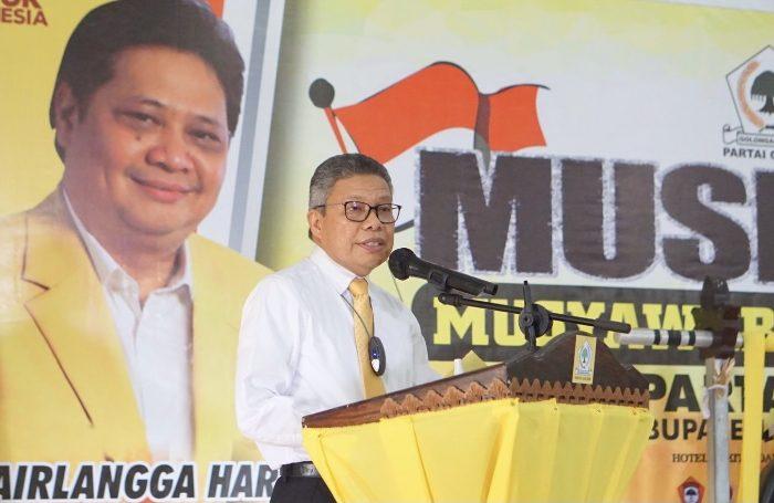 Buka Musda DPD Golkar Luwu Utara, Taufan Pawe Targetkan 10 Kursi di Pileg 2024