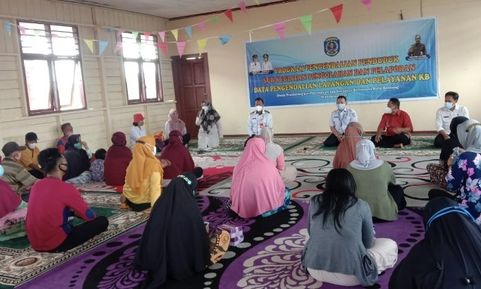 DPPKB Bontang Sosialisasi Terkait Pengendalian Penduduk dan Pelayanan KB Wilayah Pesisir