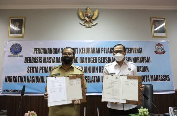 Pemkot Makassar-BNN Sulsel Komitmen Berantas Narkoba