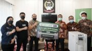 Gojek Indonesia Beri Bantuan 20 Unit Oxygen Concentrator untuk Pemprov Sulsel