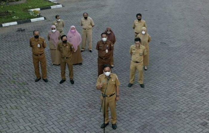 Plt Sekwan DPRD Makassar Harap Staf Disiplin Bekerja