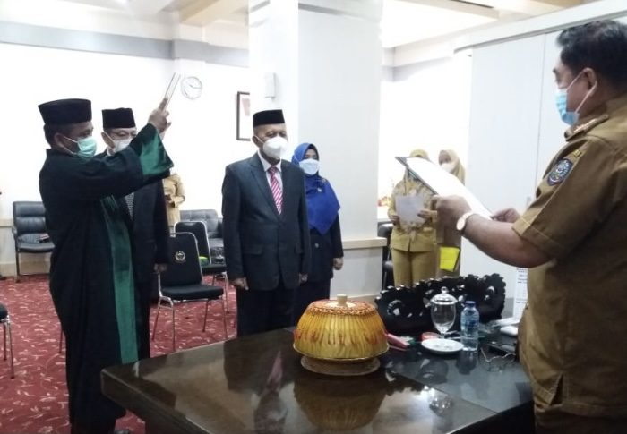 Marjani Sultan Dilantik sebagai Pejabat Fungsional Pemprov Sulsel