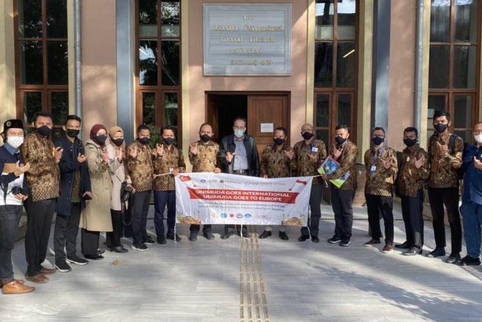 UniMUDA Sorong Rintis Kolaborasi dengan Istanbul University Turki