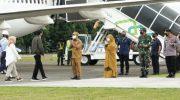 Presiden Jokowi kuker ke wajo