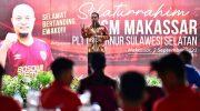 Jelang Laga Perdana, Plt Gubernur Lepas Tim PSM Makassar