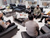 Pimpinan DPRD Makassar Silaturahmi dengan Kapolda Sulsel