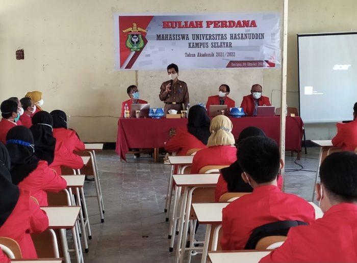 Wakil Bupati Pantau Kuliah Perdana Mahasiswa UNHAS Kampus Selayar