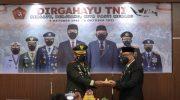 Wakil Wali Kota Parepare Ikuti Peringatan HUT TNI ke-76 Secara Virtual