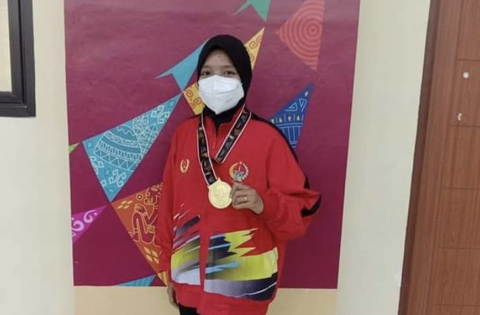 Sri Eviyanti Sumbang Medali Emas Pertama untuk Sulsel di PON XX Papua